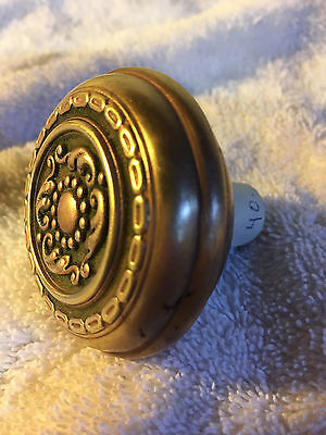 No.8 Victorian antique doorknob solid brass