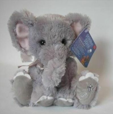 New with Tag Elephant Plush Shining Stars Russ Berrie 34434