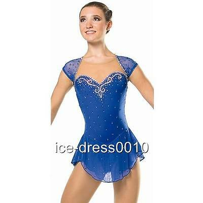 2016 New Exclusive Figure Skating Dress 8807-1