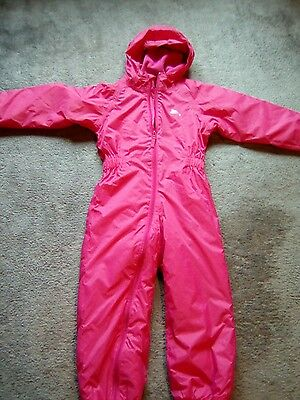 trespass girls padded warm winter  all in one age 5-6 yrs.