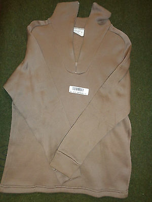 Mens Winter Under Shirt Cold Weather Polypropylene Small NOS Arctic Underlayment