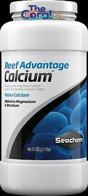SEACHEM REEF ADVANTAGE CALCIUM 500g FOR SALTWATER REEF AQUARIUMS - POWDER