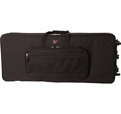 Gator Rigid Lightweight Case with Wheels for Slim & exra Long 88 Note Keyboards