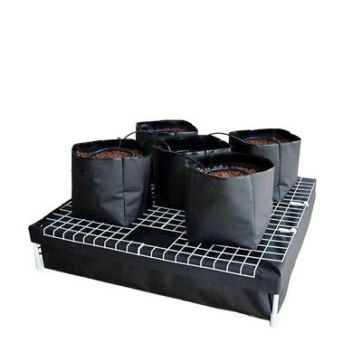 Complete Hydroponics Indoor Drip/Top Feed Water System - 5 x 9L Pots | Reservior