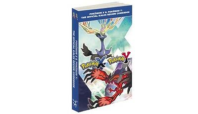 Pokemon X and Pokemon Y Official Strategy Guide (NEW)