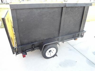 UTILITY  TRAILER  CARRY-ON  5 WIDE X 8 FT LONG- light trailer - price reduced