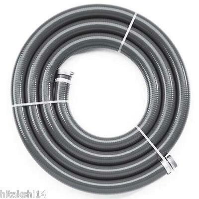 """5MX3"""" 75mm ID Suction Hose for Transfer / High Pressure / Fire Fighting Water"""
