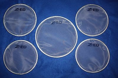 Alesis DM10 Electronic Drum Kit Conversion to White Mesh Heads x 5 PIECES