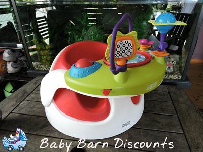 Mamas and Papas Baby Snug with Activity Play Tray - Red Seat