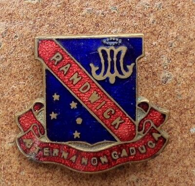 Randwick  School Badge