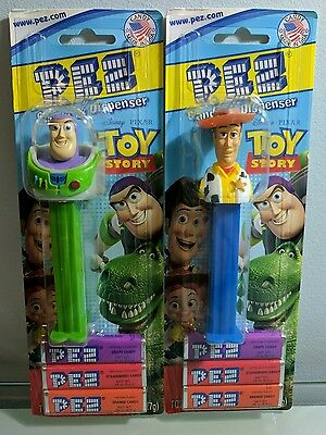 Toy Story Pez Dispenser Set of 2