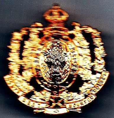 North West Mounted Police - Centenary Badge 1973
