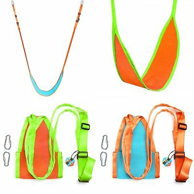 Outdoor Children Kids Swing Hanging Seat Swing Chair Chairlift Adjust Seat Strap