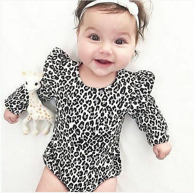 Fashion Toddler Baby Girl Kids Outfits Bodysuit Romper Jumpsuit Sunsuit Clothes