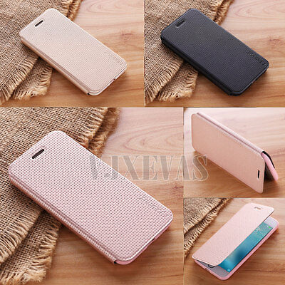 Genuine Slim PU Leather Soft Flip Case Folio Stand Cover For Apple iPhone