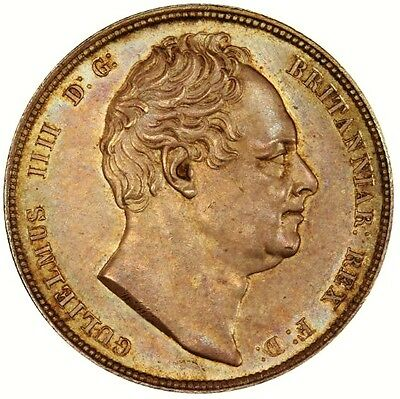 1834 William Iv Silver Half Crown; Extremely High Grade Example