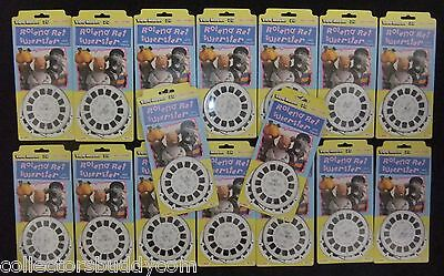 Vintage 1984 View-Master 3D Roland Rat & Friends (D 240 E) Carded Trade Lot