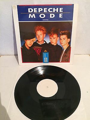"Depeche Mode - Discotrax 12"" Maxi Vinyl Not On Label Unofficial Trackone EX/EX"