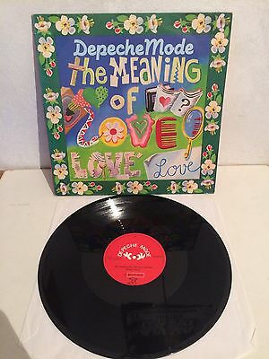 "Depeche Mode - The Meaning Of Love / Oberkorn 12"" Maxi Vinyl 12 Mute22 EX/EX"
