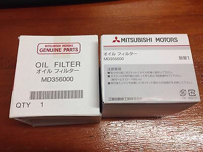 Mitsubishi Oil Filter Evo 4 5 6 7 8 9 10 MD356000 Genuine