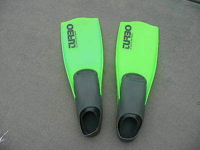 Turbo Land and Sea Fins Size 9-11