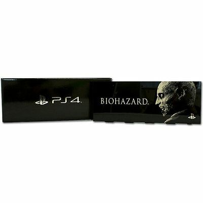 Cover hdd - Faceplate hdd ps4 Biohazard black. Originale Sony.