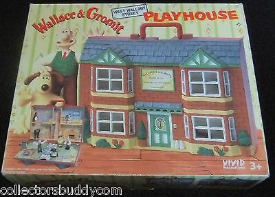Vintage 1989 Wallace & Gromit Playhouse Boxed By Vivid Imaginations