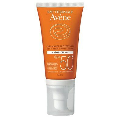 Avène Cream SPF50+ (50ml) Very High Sun Protection Brand New Free Delivery