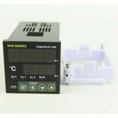 ITC-100VL PID Digital Temperature Controller Thermostat 12V control heating fan