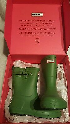 Bnwt Hunter Welly Boots For Size 1!! Bargain!!