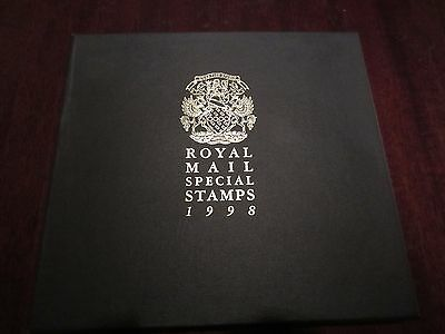 Royal Mail 1998 Special Stamps Year Book (Leather Bound)