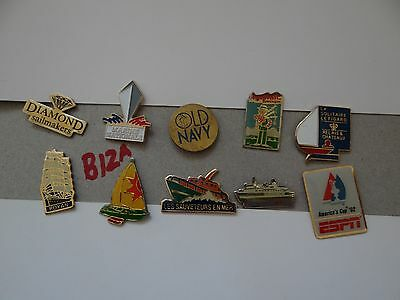 10 x MIXED COLLECTABLE BADGES / PINS B12A