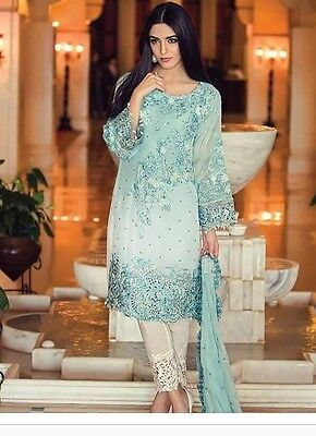 Pakistani Designer Maria B Salwar Kameez Asian Party Wear Bridal Wear