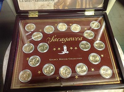 2000 - 2008 Sacagawea 18 Coin PD Uncirculated Set from US Mint Rolls Boxed Set