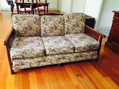 Jacobean lounge suite 2 x 3 seater and 2 arm chairs