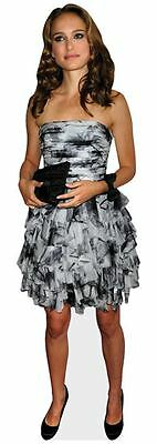 Natalie Portman Cardboard Cutout (life size OR mini size). Standee. Stand Up.