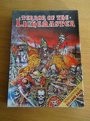 Citadel Games Workshop Warhammer Terror Of The Lichemaster, Unpunched With Badge