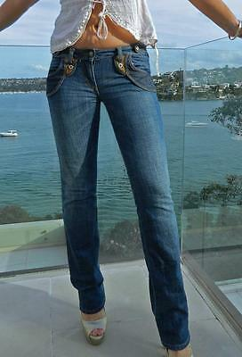 VINTAGE Sass & Bide Western Rock Chic Low Rise Boot Cut Jeans 26