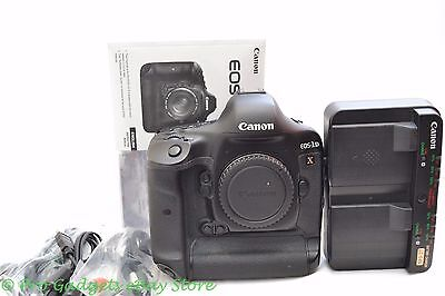 Canon EOS 1DX 18.1MP Digital SLR Camera - 49665 Actuations - 6 Month Warrranty