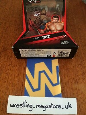 WWF WWE Wrestling Figure Miz Sealed ( Signed By The Miz And R-Truth )
