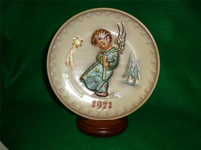 """Hummel Annual Plate 1971 """" Heavenly Angel """" 1st Edition   BRAND NEW IN BOX !!!"""