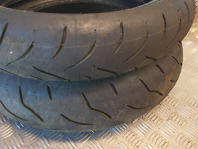 Bridgestone Battlax Bt016 Tyres 120/70/17 160/60/17