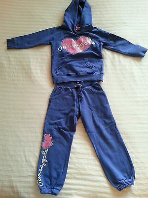 Girls Pineapple tracksuit 5-6 years