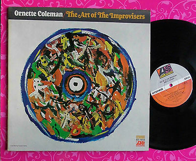 ORNETTE COLEMAN The Art Of The Improvisers LP ATLANTIC SD1571 UK71 1stP NM A1/B2