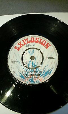 "A Fistful Of Dollars - The Crystalites Vinyl 7""45Rpm Explosion. Vgc.rare"