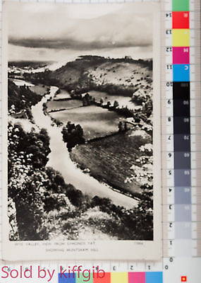 Wye Valley, View from Symonds Yat 1950s postcard