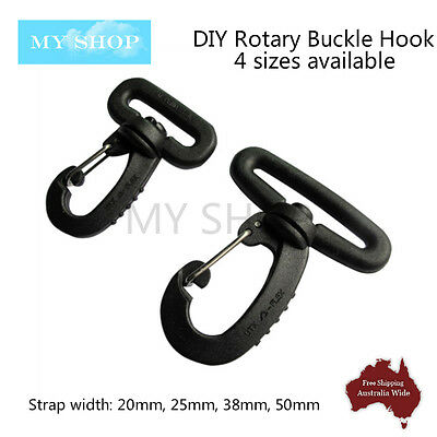 High Quality Rotary Buckle Hook Clip--DIY Bag Backpack Strap 20mm/25mm/38mm/50mm