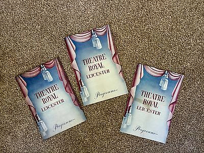 Leicester Vintage Theatre Programmes * Theatre Royal * Local History * Adverts