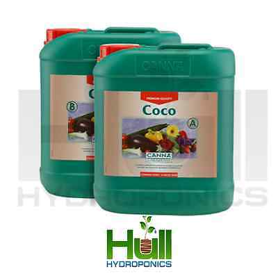 Canna Coco 5L A + B Complete Plant Nutrient For Grow And Bloom Hydroponics