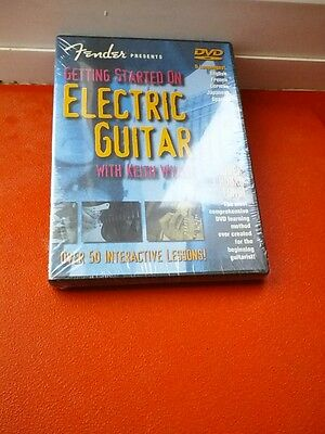 Learning to play Electric Guitar -DVD.